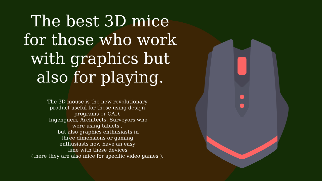 best 3D mice for those who work with graphics
