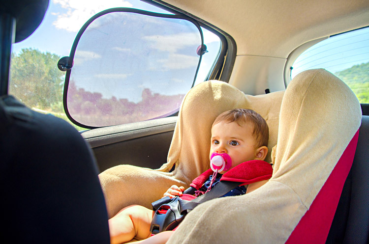 Tips on Traveling With a 3 Month Old by Car