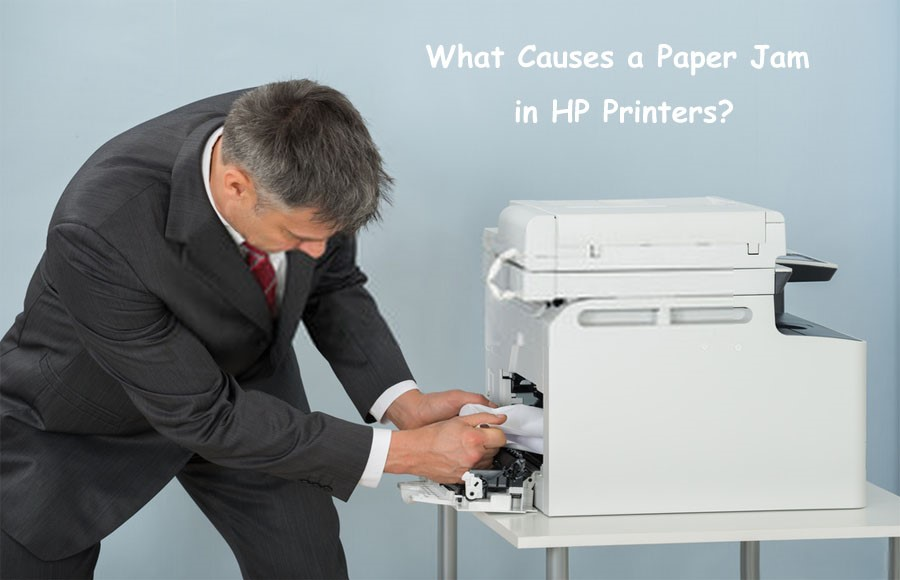 What Causes a Paper Jam in HP Printers?