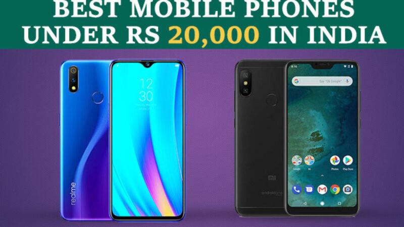 Top 5 Best Mobile Phones Under 20000