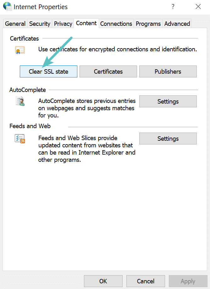 clear-ssl-state-chrome-windows