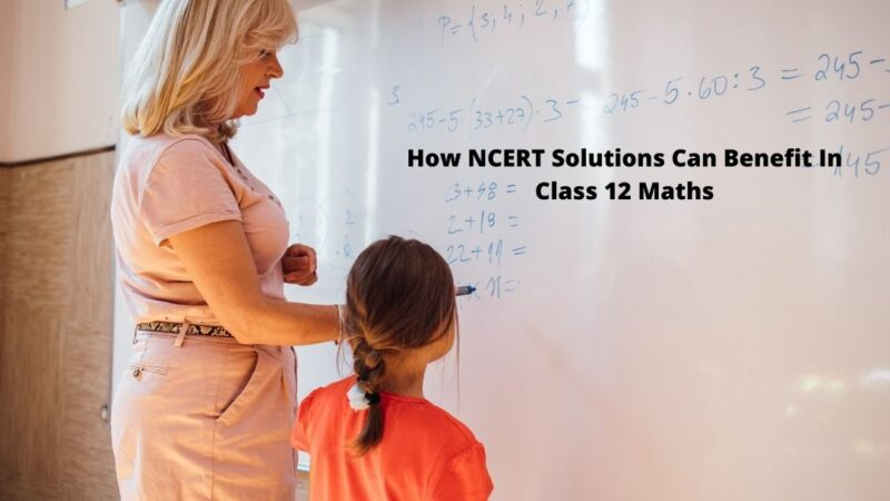 How NCERT Solutions Can Benefit In Class 12 Maths