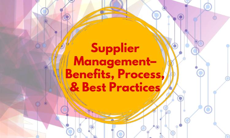 Supplier-Management